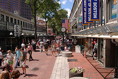 image of Faneuil Marketplace one of the Free Things and Stuff to Do in Boston