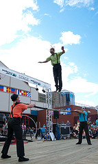 image of the halifax international busker festival one of the Free Things and Stuff to Do in Halifax