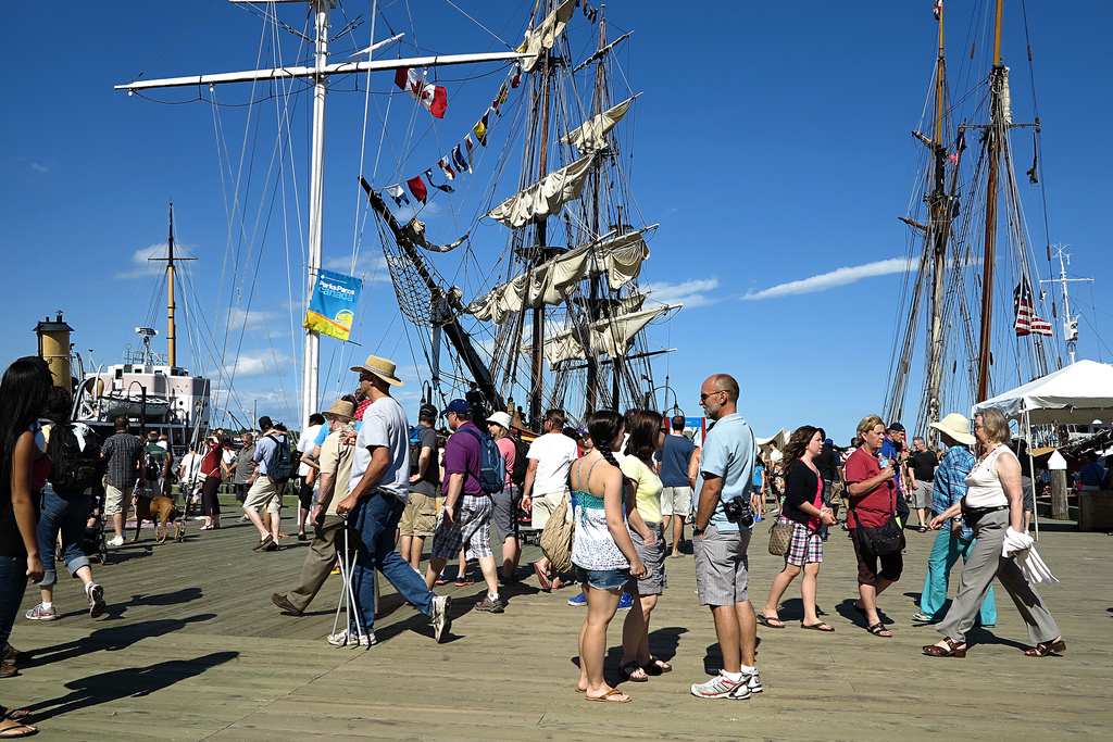 image of the halifax waterfront boardwalk one of the Free Things and Stuff to Do in Halifax
