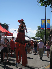 image of the Kengsington Sun & Salsa Festival one of the Free Things and Stuff to Do in Calgary