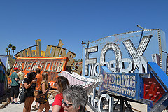 image of the neon museum one of the Cheap, Fun Things to See & Do in Las Vegas