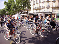 image of the Paris Rando Vélo one of the Free Things and Stuff to Do in Paris