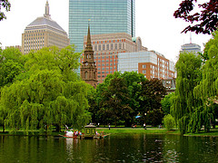 image of the public gardens one of the Free Things and Stuff to Do in Boston