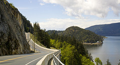 image of the sea-to-sky highway one of the Best Cheap Things to Do and Fun Stuff to See in Vancouver
