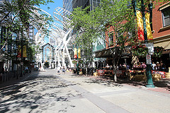 image of the Stephen Avenue Walk one of the Free Things and Stuff to Do in Calgary