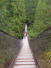 image of lynn canyon suspension bridge one of the Free Things and Stuff to Do in Vancouver