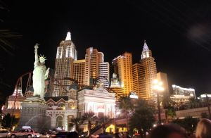 image of the New York New York hotel casino one of the cheap places to stay in Las Vegas