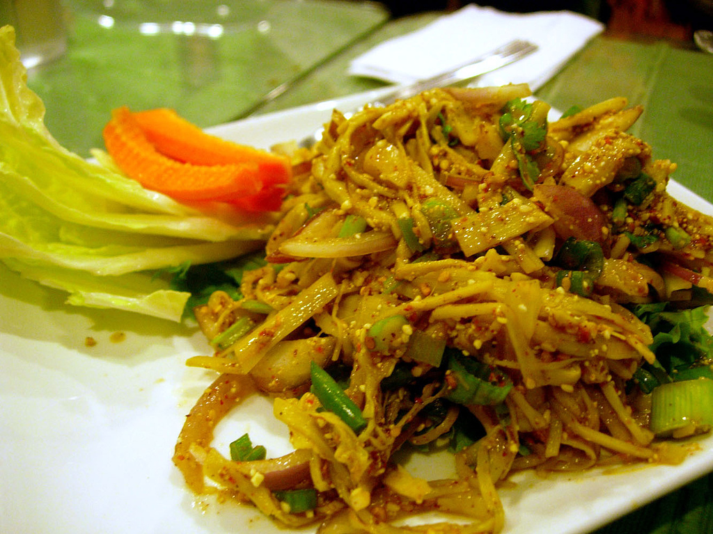 image of Thai Food, from Khao Thai one of the best, affordable restaurants in the Byward Market in Ottawa