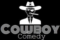 image of the cowboy comedy logo one of the cheap things to do in Toronto that features live comedy for only $10