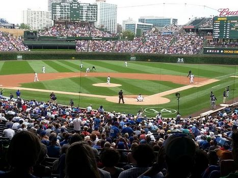 a Chicago Cubs major league baseball game one of the fun things to do in Chicago