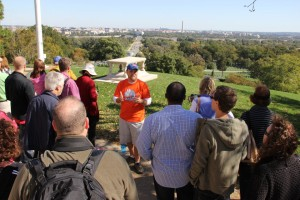 image of a dc by foot walking tour one of the free things and stuff to do in Washington DC