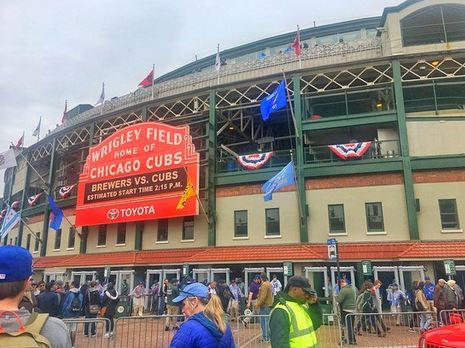tour of Wrigley Field one of the fun, cheap things to do in Chicago