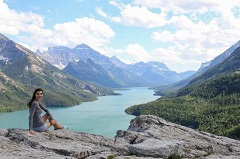 Waterton Lakes National Park one of the cool, cheap, fun things to see when visiting Calgary