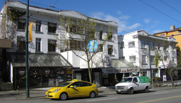 image of the barclay hotel one of the Cheap Hotels, Bed & Breakfast Spots, Hostels and Places to Stay in Vancouver