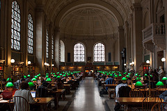 image of the boston public library one of the Free Things and Stuff to Do in Boston