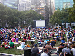 Bryant Park Outdoor Film Festival