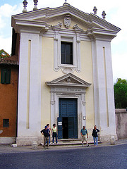 image of the church of domine quo vadis one of the Free Things and Stuff to Do in Rome