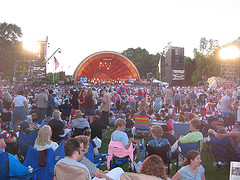 image of the DCR Hatch Shell one of the Free Things and Stuff to Do in Boston