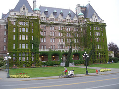 image of the empress hotel one of the Free Things and Stuff to Do in Victoria, BC