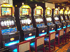 image of slot machines at Fallsview Casino, one of the cheap, fun things to do in Niagara falls ontario canada