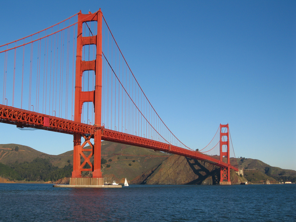 image of the golden gate bridge one of the Free Things and Stuff to Do in San Francisco