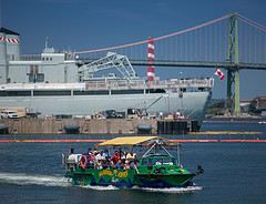 image of the Harbour Hopper one of the Best Cheap Things and Stuff to Do in Halifax