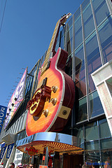 image of the hard rock hotel one of the Free Things and Stuff to Do in Las Vegas