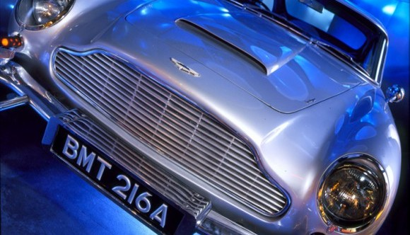 image of a james bond car at the international spy museum one of the Cheap, Fun Things to See & Do in Washington DC