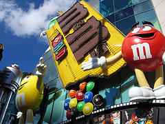 image of M&M's world one of the Cheap, Fun Things to See & Do in Las Vegas
