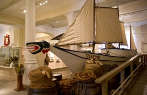 image of a boat at the Maritime Museum of BC one of the Best Cheap Things to See and Do in Victoria, BC