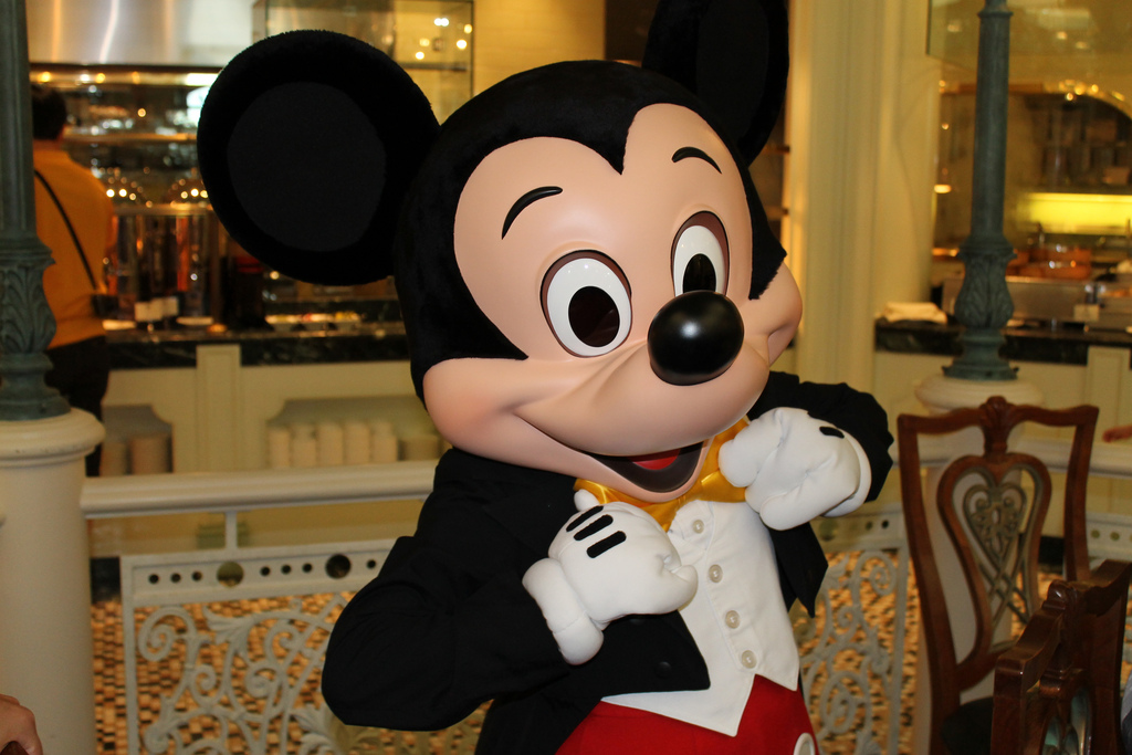 image of mickey mouse at disney's boardwalk one of the Free Things and Stuff to Do in Orlando