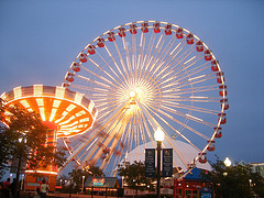 image of the navy pier one of the free things and stuff to do in Chicago
