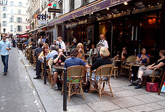 image of a paris cafe one of the Free Things and Stuff to Do in Paris