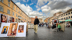 image of the piazza navona one of the Free Things and Stuff to Do in Rome