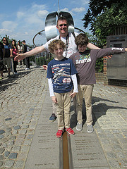 image of the prime meridian line one of the Free Things and Stuff to Do in London