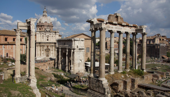 image of the roman forum one of the Free Things and Stuff to Do in Rome