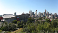 image of the Calgary Saddledome