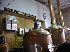 image of the samuel adams brewery one of the Free Things and Stuff to Do in Boston