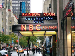 image of NBC Studios sign one of the Free Things and Stuff to Do in New York City (NYC)