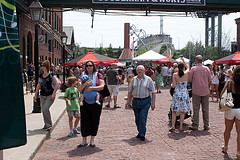 image of The Distillery Historic District one of the free things and stuff to do in toronto