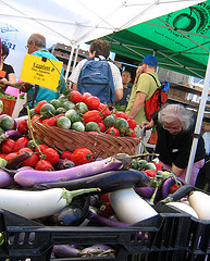image of the Union Square Green Market one of the Free Things and Stuff to Do in New York City (NYC)