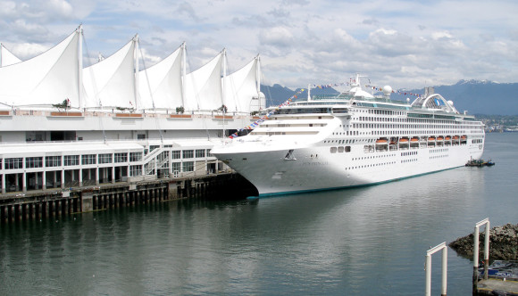 image of the cruise ship dock one of the Free Things and Stuff to Do in Vancouver