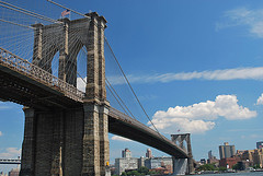 image of the brooklyn bridge one of the Free Things and Stuff to Do in New York City (NYC)