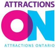 image of a logo representing attractions ontario one of the organizations that offers discount coupons for Ottawa attractions every year