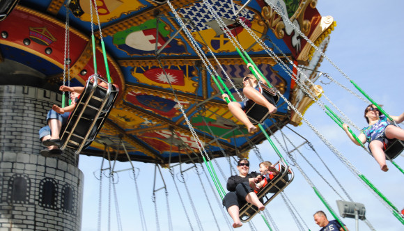 image of Calaway Park one of the calgary attractions that offer a discount coupon on admission