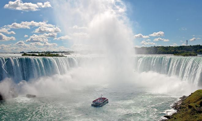 image of the Niagara Falls Boat Tour: Voyage to the Falls one of the popular activities to do in Niagara Falls Ontario