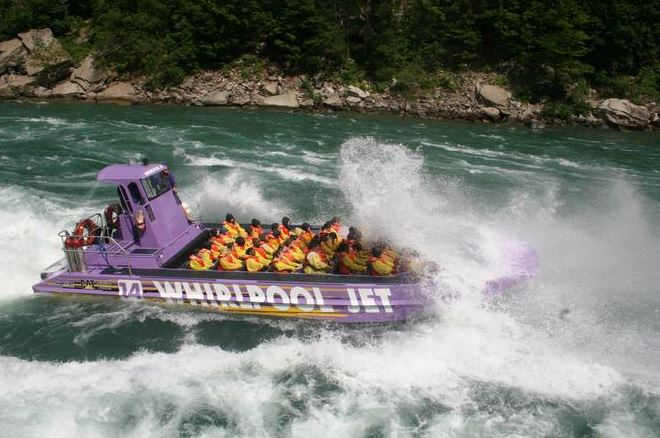 imager of the Niagara Falls Open Jet Boat Tour one of the wild activities you can get tickets for in Niagara Falls