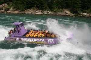 image of the Niagara Falls Open Jet Boat Tour one of the attractions you can save on by buying your ticket online