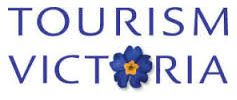 image of a logo for Tourism Victoria whose website features discounts coupons and deals on things to do
