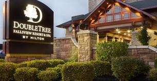 image of the DoubleTree fallsview resort and spa one of the cheap places to stay in niagara falls ontario canada